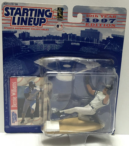 (TAS034080) - 1996 Hasbro Starting Lineup Sports Superstar - Bernie Williams, , Action Figure, Starting Lineup, The Angry Spider Vintage Toys & Collectibles Store  - 1