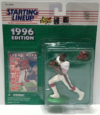 (TAS034081) - 1996 Hasbro Starting Lineup Sports Superstar - Jerry Rice, , Action Figure, Starting Lineup, The Angry Spider Vintage Toys & Collectibles Store  - 1