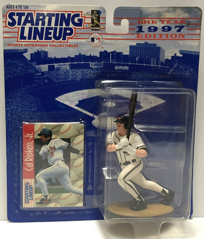 (TAS034086) - 1997 Hasbro Starting Lineup Sports Superstar - Cal Ripken Jr., , Action Figure, Starting Lineup, The Angry Spider Vintage Toys & Collectibles Store  - 1