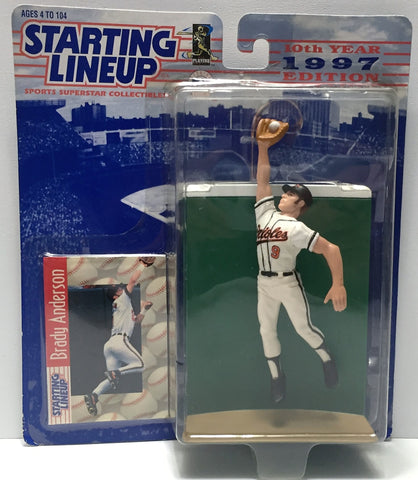 (TAS034087) - 1997 Hasbro Starting Lineup Sports Superstar - Brady Anderson, , Action Figure, Starting Lineup, The Angry Spider Vintage Toys & Collectibles Store  - 1
