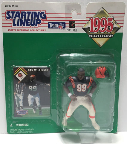 (TAS034088) - 1995 Kenner Starting Lineup Sports Superstar - Dan Wilkinson, , Action Figure, Starting Lineup, The Angry Spider Vintage Toys & Collectibles Store  - 1