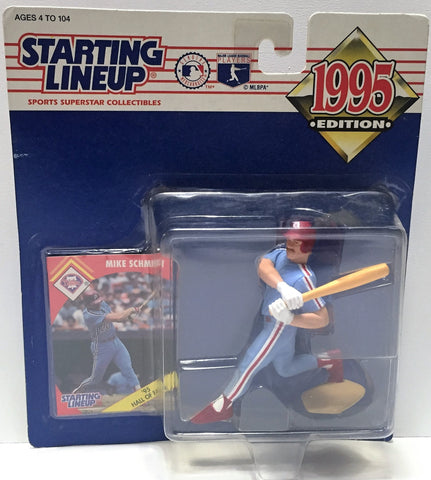 (TAS034089) - 1995 Kenner Starting Lineup Sports Superstar - Mike Schmidt, , Action Figure, Starting Lineup, The Angry Spider Vintage Toys & Collectibles Store  - 1