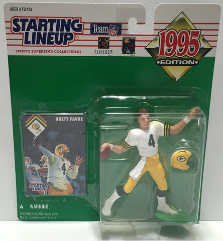 (TAS034091) - 1995 Kenner Starting Lineup Sports Superstar - Brett Favre, , Action Figure, Starting Lineup, The Angry Spider Vintage Toys & Collectibles Store  - 1