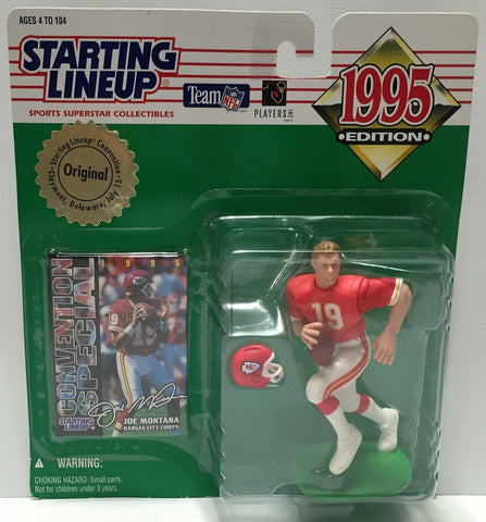 (TAS034094) - 1995 Kenner Starting Lineup Sports Superstar - Joe Montana, , Action Figure, Starting Lineup, The Angry Spider Vintage Toys & Collectibles Store  - 1