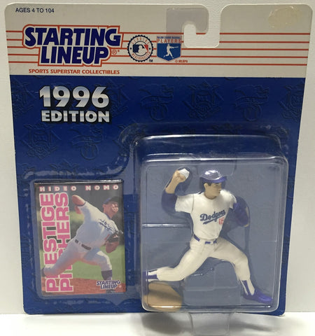 (TAS034104) - 1996 Kenner Starting Lineup Sports Superstar - Hideo Nomo, , Action Figure, Starting Lineup, The Angry Spider Vintage Toys & Collectibles Store  - 1