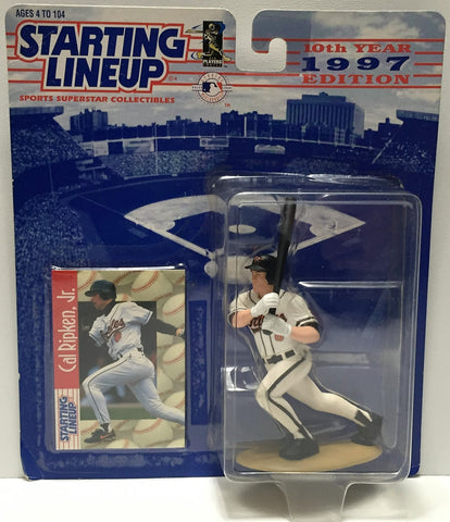 (TAS034105) - 1996 Hasbro Starting Lineup Sports Superstar - Cal Ripken Jr., , Action Figure, Starting Lineup, The Angry Spider Vintage Toys & Collectibles Store  - 1