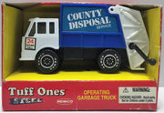 (TAS034119) - 1991 Remco Tuff Ones Steel Operating Garbage Truck Toy, , Toy, Remco, The Angry Spider Vintage Toys & Collectibles Store  - 1