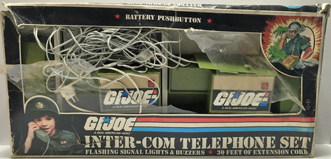 (TAS034122) - 1982 Hasbro G.I. Joe A Real American Hero Inter-Com Telephone Set, , Toys, G.I. Joe, The Angry Spider Vintage Toys & Collectibles Store  - 1