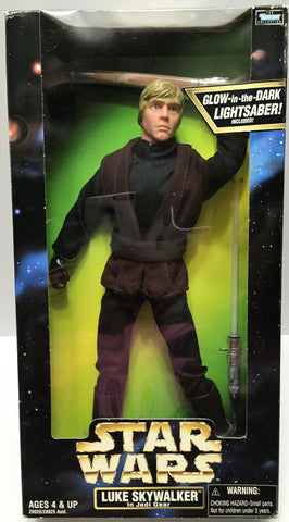 (TAS034124) - 1998 Hasbro Star Wars Action Collection - Luke Skywalker Jedi Gear, , Action Figure, Star Wars, The Angry Spider Vintage Toys & Collectibles Store  - 1