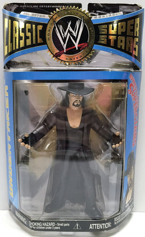 (TAS034134) - 2006 Jakks Pacific WWF Wrestling Claasic Super Stars - Undertaker, , Action Figure, Jakks Pacific, The Angry Spider Vintage Toys & Collectibles Store  - 1