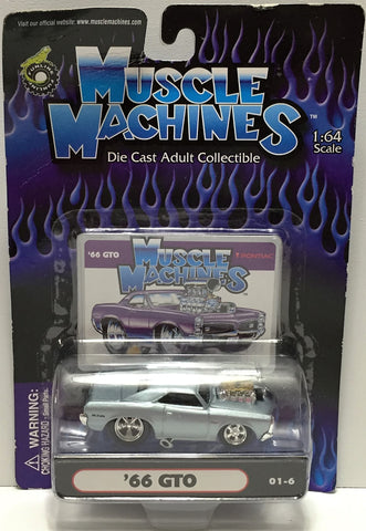 (TAS034139) - 2001 Funline Muscle Machines Die-Cast Car - '66 GTO, , Trucks & Cars, Funline Merchandise, The Angry Spider Vintage Toys & Collectibles Store  - 1