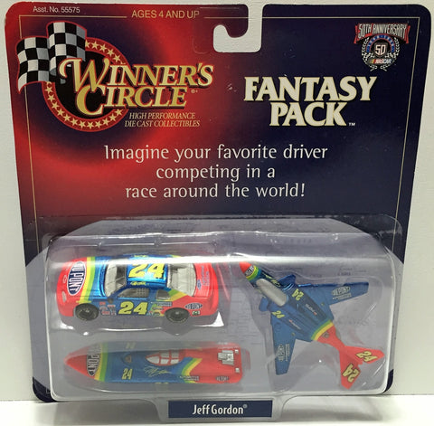 (TAS034142) - 1998 Hasbro Winner's Circle 50th Ann. Edition Fantasy Jeff Gordon, , Trucks & Cars, NASCAR, The Angry Spider Vintage Toys & Collectibles Store  - 1