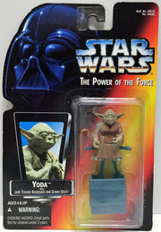(TAS034174) - 1995 Tonka Star Wars The Power of the Force Action Figure - Yoda, , Action Figure, Star Wars, The Angry Spider Vintage Toys & Collectibles Store  - 1