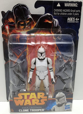 (TAS034177) - 2012 Hasbro Star Wars Saga Legends Action Figure - Clone Trooper, , Action Figure, Star Wars, The Angry Spider Vintage Toys & Collectibles Store  - 1