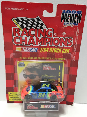 (TAS034188) - 1996 Racing Champions NASCAR Preview Edition Stock Car Jeff Gordon, , Trucks & Cars, Racing Champions, The Angry Spider Vintage Toys & Collectibles Store  - 1