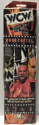 (TAS034189) - 1999 Kittrich WCW nWo Wrestling Book Covers - 4 Pack, , Books, Wrestling, The Angry Spider Vintage Toys & Collectibles Store  - 1