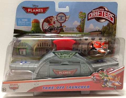(TAS034200) - 2013 Mattel Disney Planes Micro Drifters - Take-Off Launcher, , Trucks & Cars, Disney, The Angry Spider Vintage Toys & Collectibles Store  - 1