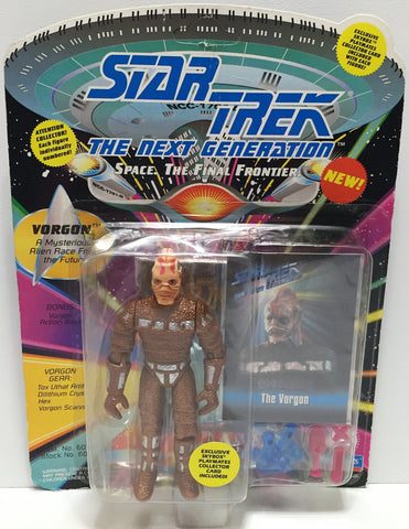 (TAS034223) - 1993 Playmates Star Trek The Next Generation Action Figure Vorgon, , Action Figure, Star Trek, The Angry Spider Vintage Toys & Collectibles Store  - 1