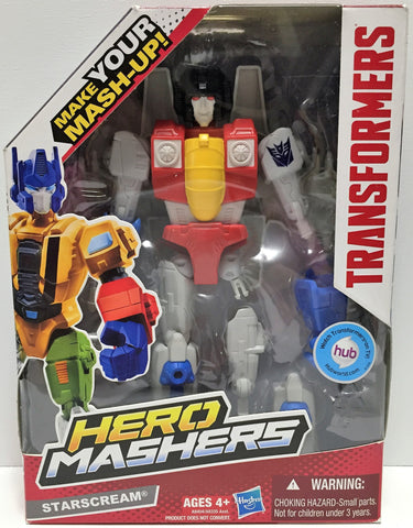 (TAS034236) - 2013 Hasbro Transformers Hero Mashers - Starscream, , Action Figure, Transformers, The Angry Spider Vintage Toys & Collectibles Store  - 1