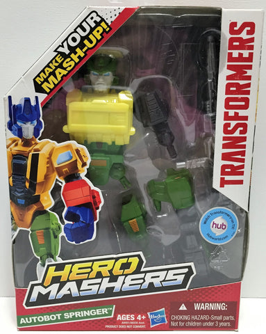 (TAS034237) - 2013 Hasbro Transformers Hero Mashers - Autobot Springer, , Action Figure, Transformers, The Angry Spider Vintage Toys & Collectibles Store  - 1