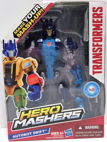 (TAS034238) - 2013 Hasbro Transformers Hero Mashers - Autobot Drift, , Action Figure, Transformers, The Angry Spider Vintage Toys & Collectibles Store  - 1