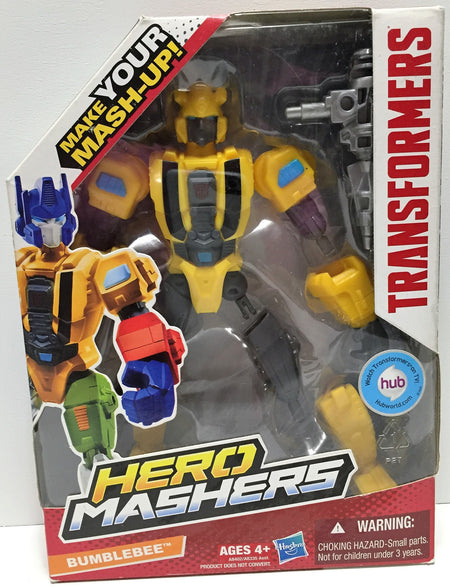 (TAS034239) - 2013 Hasbro Transformers Hero Mashers - Bumblebee, , Action Figure, Transformers, The Angry Spider Vintage Toys & Collectibles Store  - 1