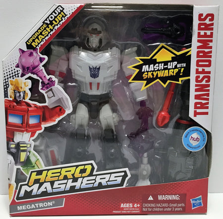 (TAS034241) - 2013 Hasbro Transformers Hero Mashers w/Cliffjumper - Megatron, , Action Figure, Transformers, The Angry Spider Vintage Toys & Collectibles Store  - 1