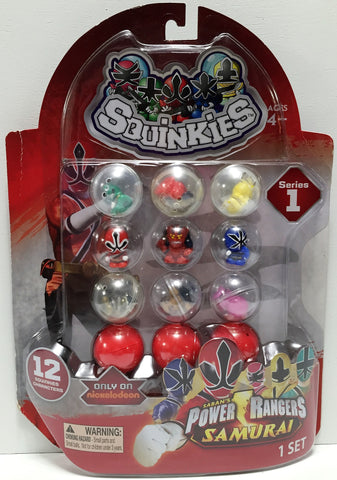 (TAS034242) - 2012 Blip Toys Squinkies Saban's Power Rangers Samurai Minis, , Action Figure, Blip Toys, The Angry Spider Vintage Toys & Collectibles Store  - 1