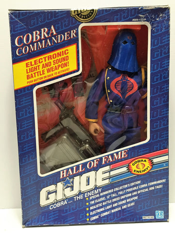 (TAS034244) - 1991 Hasbro Hall of Fame G.I. Joe Cobra - Cobra Commander, , Action Figure, G.I. Joe, The Angry Spider Vintage Toys & Collectibles Store  - 1