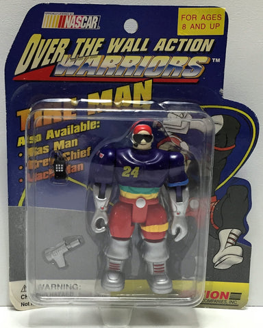 (TAS034248) - 1995 Action Nascar Over The Wall Action Warriors - Tire Man, , Action Figure, Nascar, The Angry Spider Vintage Toys & Collectibles Store  - 1