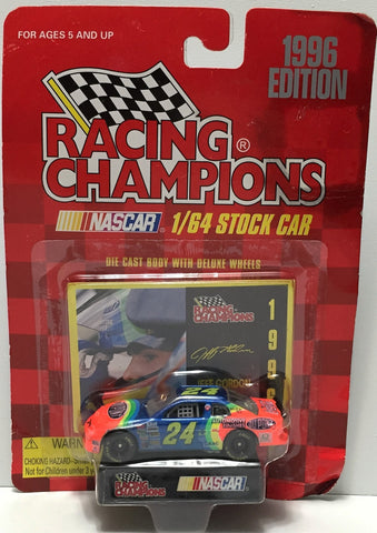 (TAS034259) - 1996 Racing Champions NASCAR Die-Cast Stock Car - Jeff Gordon, , Trucks & Cars, NASCAR, The Angry Spider Vintage Toys & Collectibles Store  - 1
