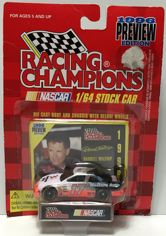 (TAS034265) - 1996 Racing Champions NASCAR Die-Cast Stock Car - Darrel Waltrip, , Trucks & Cars, NASCAR, The Angry Spider Vintage Toys & Collectibles Store  - 1