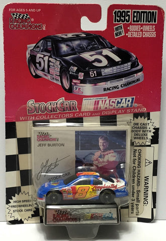 (TAS034267) - 1995 Racing Champions NASCAR Die-Cast Stock Car - Jeff Burton, , Trucks & Cars, NASCAR, The Angry Spider Vintage Toys & Collectibles Store  - 1