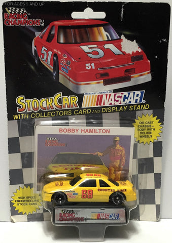 (TAS034271) - 1991 Racing Champions NASCAR Die-Cast Stock Car - Bobby Hamilton, , Trucks & Cars, NASCAR, The Angry Spider Vintage Toys & Collectibles Store  - 1