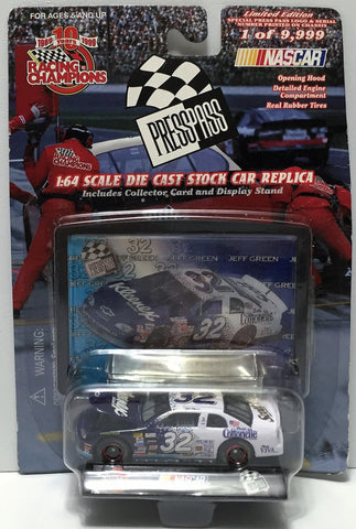 (TAS034272) - 1999 Racing Champions NASCAR Press Pass Series - Jeff Green, , Trucks & Cars, NASCAR, The Angry Spider Vintage Toys & Collectibles Store  - 1