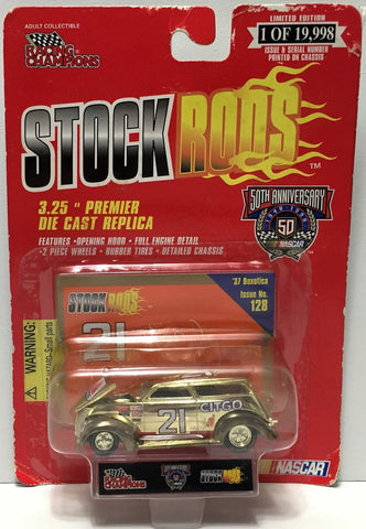 (TAS034279) - 1998 Racing Champions Stock Rods - Citgo #21 '37 Boxotica, , Trucks & Cars, NASCAR, The Angry Spider Vintage Toys & Collectibles Store  - 1