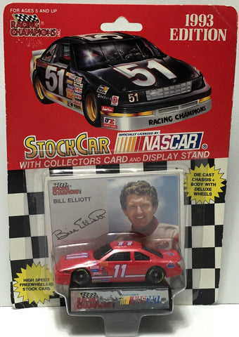 (TAS034280) - 1992 Racing Champions NASCAR Die-Cast Stock Car - Bill Elliott, , Trucks & Cars, NASCAR, The Angry Spider Vintage Toys & Collectibles Store  - 1