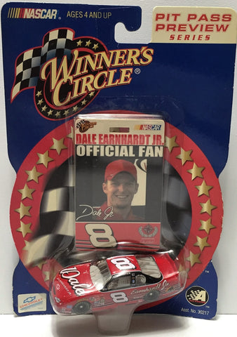(TAS034281) - 2001 Winner's Circle NASCAR Official Fan - Dale Earnhardt Jr, , Trucks & Cars, NASCAR, The Angry Spider Vintage Toys & Collectibles Store  - 1