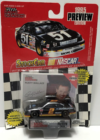 (TAS034288) - 1994 Racing Champions NASCAR Die-Cast Stock Car - Rusty Wallace, , Trucks & Cars, NASCAR, The Angry Spider Vintage Toys & Collectibles Store  - 1
