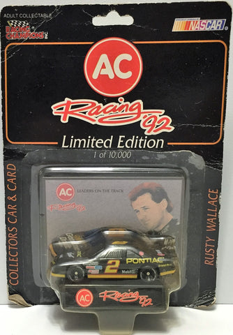 (TAS034289) - 1992 Racing Champions NASCAR Racing '92 Series - Rusty Wallace, , Trucks & Cars, NASCAR, The Angry Spider Vintage Toys & Collectibles Store  - 1