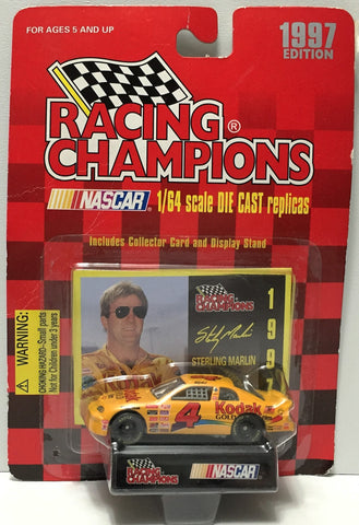 (TAS034292) - 1997 Racing Champions NASCAR Die-Cast Replica - Sterling Marlin, , Trucks & Cars, NASCAR, The Angry Spider Vintage Toys & Collectibles Store  - 1
