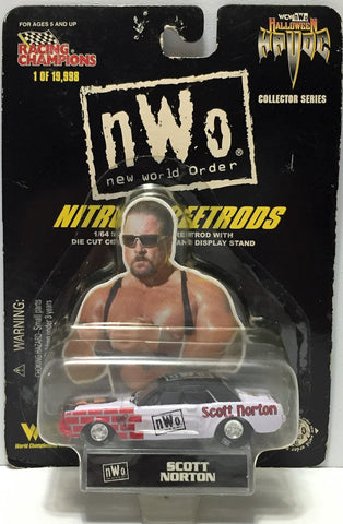 (TAS034296) - 1998 Racing Champions WCW nWo Nitro Streetrods - Scott Norton, , Trucks & Cars, Wrestling, The Angry Spider Vintage Toys & Collectibles Store  - 1