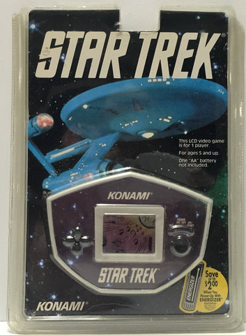 (TAS034355) - 1992 Paramount Pictures Konami Star Trek LCD Handheld Video Game, , Game, n/a, The Angry Spider Vintage Toys & Collectibles Store  - 1
