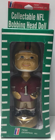(TAS034356) - Twin Enterprise Collectible NFL Football Bobbing Head Doll - 49ers, , Bobblehead, NFL, The Angry Spider Vintage Toys & Collectibles Store  - 1