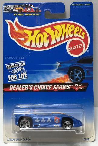 (TAS034401) - 1996 Mattel Hot Wheels - Dealer's Choice Series Silhouette II, , Trucks & Cars, Hot Wheels, The Angry Spider Vintage Toys & Collectibles Store  - 1