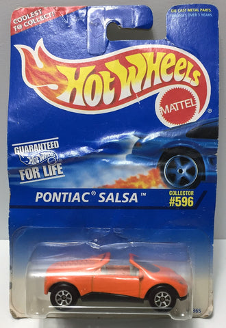 (TAS034402) - 1995 Mattel Hot Wheels Die-Cast - Pontiac Salsa, , Trucks & Cars, Hot Wheels, The Angry Spider Vintage Toys & Collectibles Store  - 1