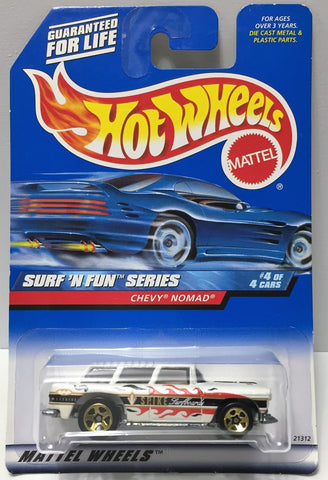 (TAS034408) - 1998 Mattel Hot Wheels Die-Cast - Surf 'N Fun Series - Chevy Nomad, , Trucks & Cars, Hot Wheels, The Angry Spider Vintage Toys & Collectibles Store  - 1