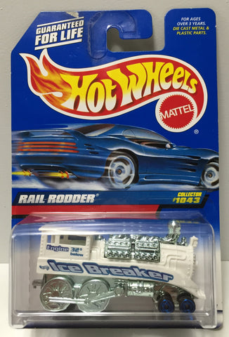 (TAS034409) - 1998 Mattel Hot Wheels Die-Cast - Rail Rodder, , Trucks & Cars, Hot Wheels, The Angry Spider Vintage Toys & Collectibles Store  - 1