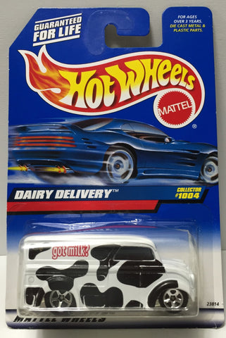 (TAS034411) - 1998 Mattel Hot Wheels Die-Cast - Dairy Delivery, , Trucks & Cars, Hot Wheels, The Angry Spider Vintage Toys & Collectibles Store  - 1