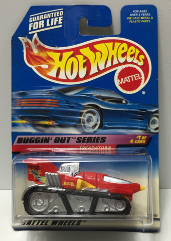 (TAS034413) - 1998 Mattel Hot Wheels Die-Cast - Buggin' Out Series - Treadator, , Trucks & Cars, Hot Wheels, The Angry Spider Vintage Toys & Collectibles Store  - 1
